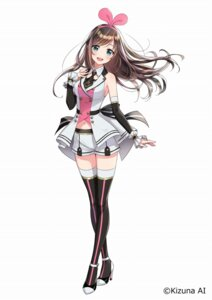 Rating: Safe Score: 59 Tags: a.i._channel heels kizuna_ai morikura_en tagme thighhighs User: saemonnokami