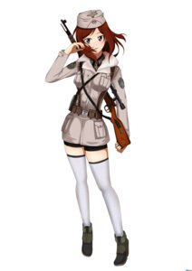 Rating: Safe Score: 26 Tags: gun heli-kotohime love_live! nishikino_maki thighhighs uniform User: Ulquiorra93