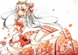 Rating: Safe Score: 61 Tags: amatsukaze_(kancolle) dango_remi dress kantai_collection no_bra wedding_dress User: Mr_GT