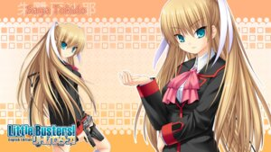 Rating: Safe Score: 8 Tags: garter gun key little_busters! na-ga seifuku skirt_lift tokido_saya wallpaper User: marechal