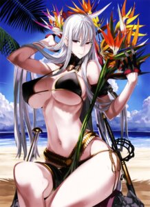 Rating: Safe Score: 107 Tags: bikini cleavage erect_nipples honjou_raita selvaria_bles swimsuits underboob valkyria_chronicles valkyria_chronicles_duel weapon User: demonbane1349