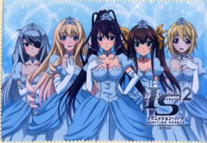 Rating: Questionable Score: 38 Tags: card cecilia_alcott charlotte_dunois dress huang_lingyin infinite_stratos laura_bodewig shinonono_houki User: fireattack