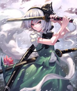 Rating: Safe Score: 48 Tags: blood konpaku_youmu sword touhou zengxianxin User: nphuongsun93
