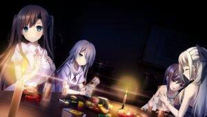 Rating: Safe Score: 49 Tags: amatori_sumire cube fushimi_tomoe game_cg kakao kanekiyo_miwa mizusaki_tsukino moododan takase_konoha yurameku_kokoro_ni_michita_sekai_de_kimi_no_yume_to_yokubou_wa_kanau_ka User: zyll