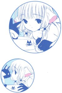 Rating: Safe Score: 7 Tags: chii chobits clamp monochrome neko User: Share