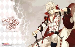 Rating: Safe Score: 9 Tags: furyu male pako sword unchainblades unchainblades_rexx wallpaper User: Lord_Satorious