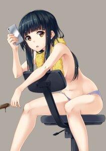 Rating: Questionable Score: 84 Tags: pantsu topless unasaka User: hiroimo2