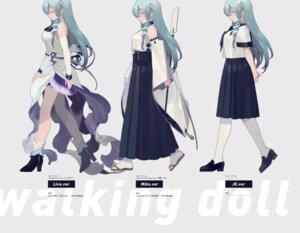 Rating: Safe Score: 25 Tags: heels kochiya_sanae miko pantyhose rei_(sanbonzakura) seifuku touhou User: Mr_GT