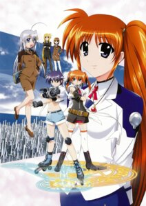 Rating: Safe Score: 7 Tags: fate_testarossa mahou_shoujo_lyrical_nanoha mahou_shoujo_lyrical_nanoha_strikers pantyhose reinforce_zwei subaru_nakajima takamachi_nanoha teana_lanster yagami_hayate User: syaoran-kun