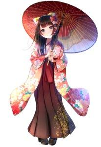 Rating: Safe Score: 42 Tags: heels japanese_clothes kentaurosu umbrella User: RyuZU