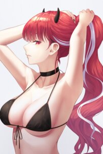 Rating: Safe Score: 14 Tags: artist_revision bikini_top cleavage horns myung swimsuits tagme underboob User: Mr_GT