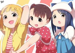 Rating: Safe Score: 15 Tags: akamatsu_yui animal_ears dress kamonegi_(meisou1998) kotoha_(mitsuboshi_colors) mitsuboshi_colors nekomimi sacchan_(mitsuboshi_colors) User: charunetra