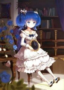 Rating: Safe Score: 84 Tags: anmi dress megane snow_ring User: fireattack