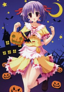 Rating: Safe Score: 28 Tags: dress halloween kamine_ayaka naruse_mamoru pantsu pia_carrot pia_carrot_4 User: Gekisoku