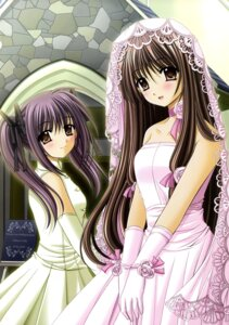 Rating: Safe Score: 25 Tags: dress final_approach nishimata_aoi wedding_dress User: fireattack