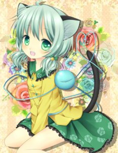 Rating: Safe Score: 29 Tags: animal_ears harukaruha komeiji_koishi nekomimi tail touhou User: 椎名深夏