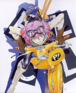 Rating: Safe Score: 6 Tags: flcl haruhara_haruko sadamoto_yoshiyuki screening User: blooregardo