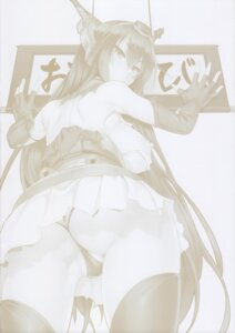 Rating: Questionable Score: 9 Tags: ass breasts cameltoe cle_masahiro clesta kantai_collection monochrome nagato_(kancolle) nipples pantsu thighhighs thong torn_clothes User: Nico-NicoO.M.