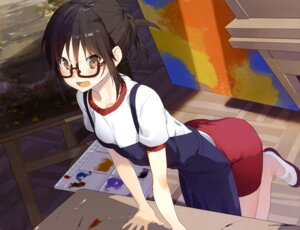 Rating: Safe Score: 54 Tags: akinashi_yuu gym_uniform megane User: drop