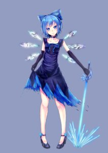 Rating: Safe Score: 45 Tags: cirno dabadhi dress sword touhou User: Radioactive