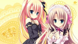 Rating: Safe Score: 84 Tags: asakura_hayate majo_koi_nikki qoobrand tokeizaka_kanon tokeizaka_rei wallpaper User: にまび