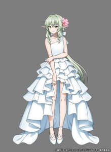 Rating: Questionable Score: 27 Tags: dress elf goblin_slayer high_elf_archer pointy_ears tagme wedding_dress User: megumiok