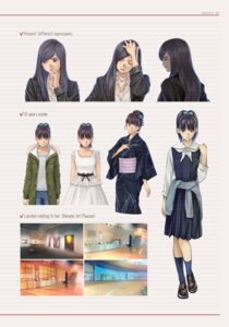 Rating: Safe Score: 6 Tags: business_suit root_letter seifuku sweater yukata User: saemonnokami