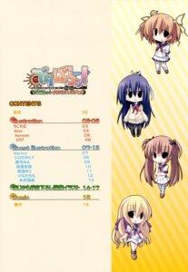 Rating: Safe Score: 3 Tags: bibi chibi delivara! index_page kujou_aya mikogami_mikoto seifuku takachihou_kyouko yufu_sumika User: Kalafina