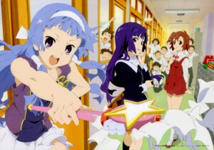 Rating: Safe Score: 19 Tags: aoba_tsugumi kannagi_crazy_shrine_maidens matsuo_yuusuke nagi seifuku zange User: Onpu