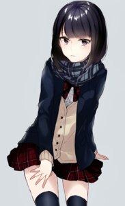 Rating: Safe Score: 44 Tags: seifuku sogawa66 sweater thighhighs User: charunetra