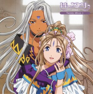 Rating: Safe Score: 13 Tags: ah_my_goddess belldandy disc_cover screening urd User: minakomel