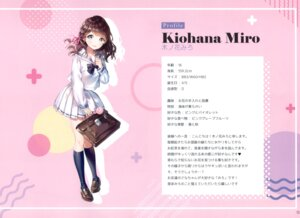Rating: Safe Score: 22 Tags: ancotaku breast_hold kiohana_miro seifuku sentiment_color User: kiyoe