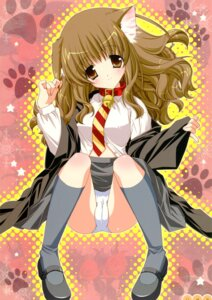 Rating: Questionable Score: 42 Tags: animal_ears cameltoe harry_potter hermione_granger nekomimi pantsu shigunyan User: midzki