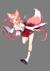 Rating: Safe Score: 37 Tags: animal_ears japanese_clothes sakuragi_ren tail transparent_png User: Mr_GT