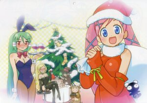 Rating: Safe Score: 4 Tags: abe_maria akai_maho animal_ears bunny_ears bunny_girl christmas doki_doki_majo_shinpan gyaku_panda lulu_(doki_doki_majo_shinpan) midoh_ayame mochizuki_yuuma oda_renge seiya_eve watabiki_merry User: vita