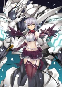 Rating: Safe Score: 40 Tags: fai koshimizu_sachiko mecha stockings the_idolm@ster the_idolm@ster_cinderella_girls thighhighs wings User: Mr_GT