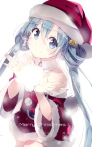 Rating: Safe Score: 57 Tags: christmas dress hatsune_miku lf vocaloid User: charunetra
