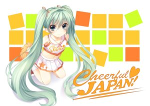 Rating: Safe Score: 28 Tags: cheerleader hatsune_miku if vocaloid User: Amdx1