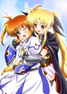 Rating: Safe Score: 20 Tags: diesel fate_testarossa mahou_shoujo_lyrical_nanoha mahou_shoujo_lyrical_nanoha_a's mahou_shoujo_lyrical_nanoha_the_movie_2nd_a's takamachi_nanoha yuri User: shizukane