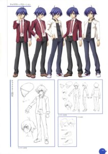 Rating: Safe Score: 3 Tags: 11eyes character_design kengou male satsuki_kakeru User: crim