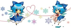 Rating: Safe Score: 11 Tags: chibi cirno shiina_yuuya touhou wings User: Radioactive