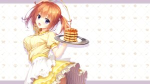 Rating: Safe Score: 40 Tags: cafe_stella_to_shinigami_no_chou game_cg muririn skirt_lift sumizome_nozomi waitress yuzu-soft User: Pekie