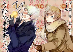 Rating: Safe Score: 7 Tags: hetalia_axis_powers male nosaki_tsubasa prussia russia User: charunetra