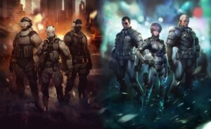 Rating: Safe Score: 18 Tags: batou ghost_in_the_shell kusanagi_motoko saito User: blooregardo