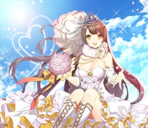 Rating: Safe Score: 45 Tags: cleavage dress jeminl love_live! minami_kotori wedding_dress User: fairyren
