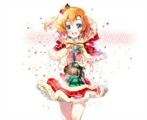 Rating: Safe Score: 41 Tags: christmas kousaka_honoka love_live! miwabe_sakura User: fairyren