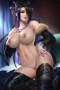 Rating: Explicit Score: 70 Tags: final_fantasy final_fantasy_x garter lulu naked nipples nudtawut_thongmai pussy thighhighs uncensored User: BattlequeenYume