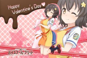 Rating: Safe Score: 34 Tags: high_school_fleet irako_mikan seifuku valentine wallpaper User: AltY