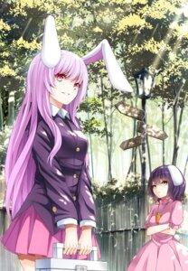 Rating: Safe Score: 40 Tags: animal_ears bunny_ears inaba_tewi mikoma_sanagi reisen_udongein_inaba seifuku touhou User: 23yAyuMe