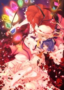 Rating: Safe Score: 8 Tags: flandre_scarlet pompier remilia_scarlet touhou User: Mr_GT